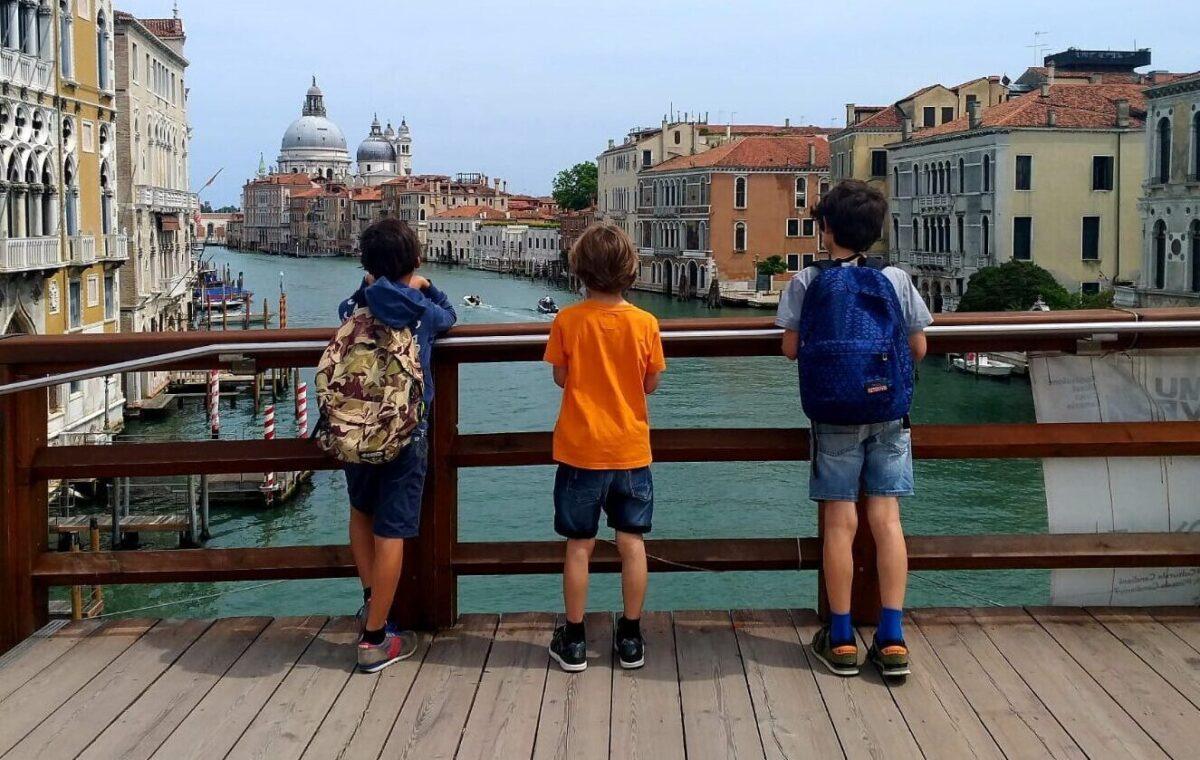 A Venezia con i bambini dopo il lockdown