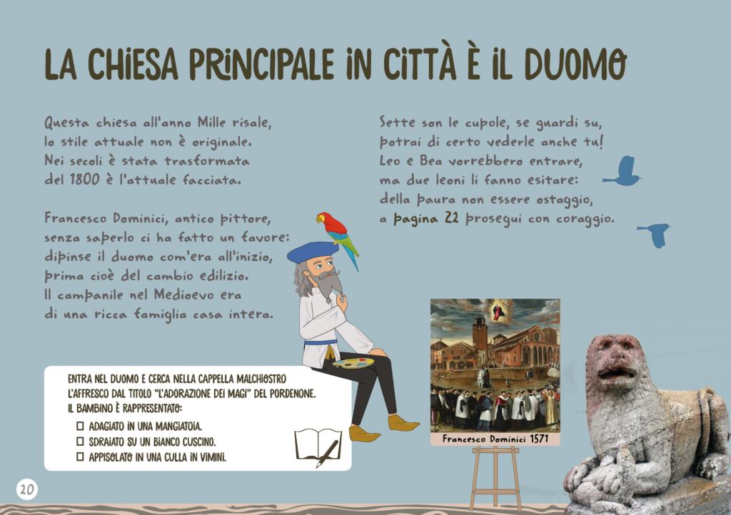 Duomo di Treviso nella rappresentazione di Dominici