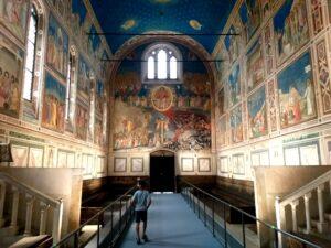 A Padova visita alla Cappella degli Scrovegni