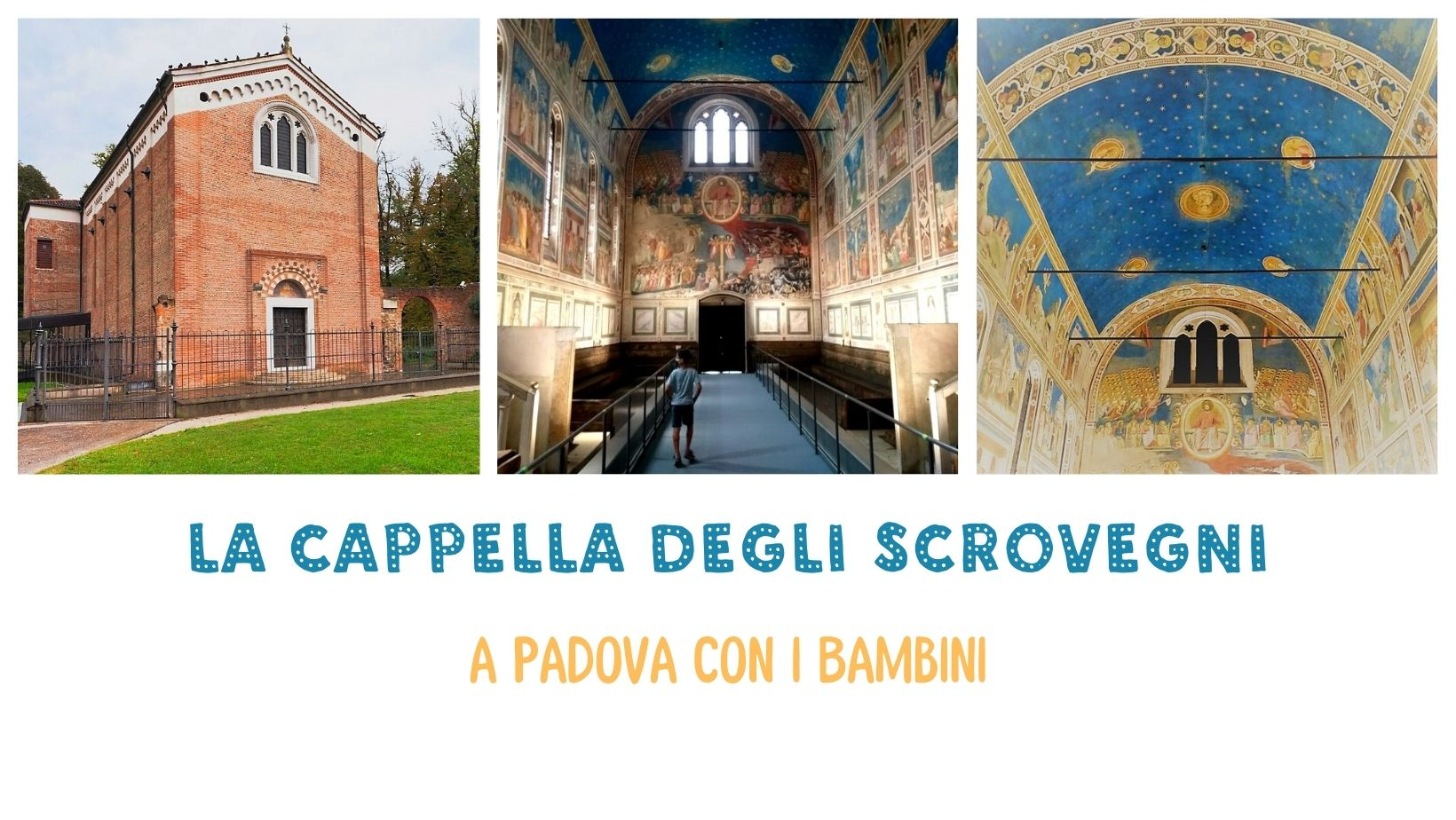 Veneto Padova Cappella Scrovegni bambini