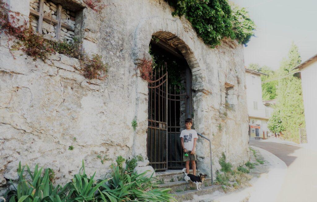 Bagni di San Filippo, abitazione storica.