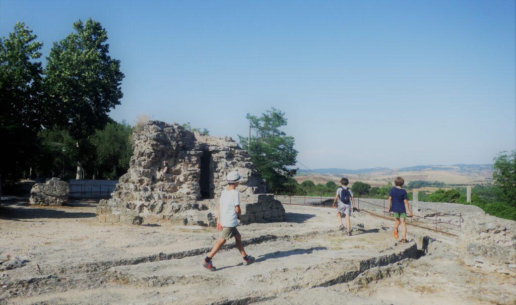 Bagno Vignoni, Parco Archeologico dei Mulini.