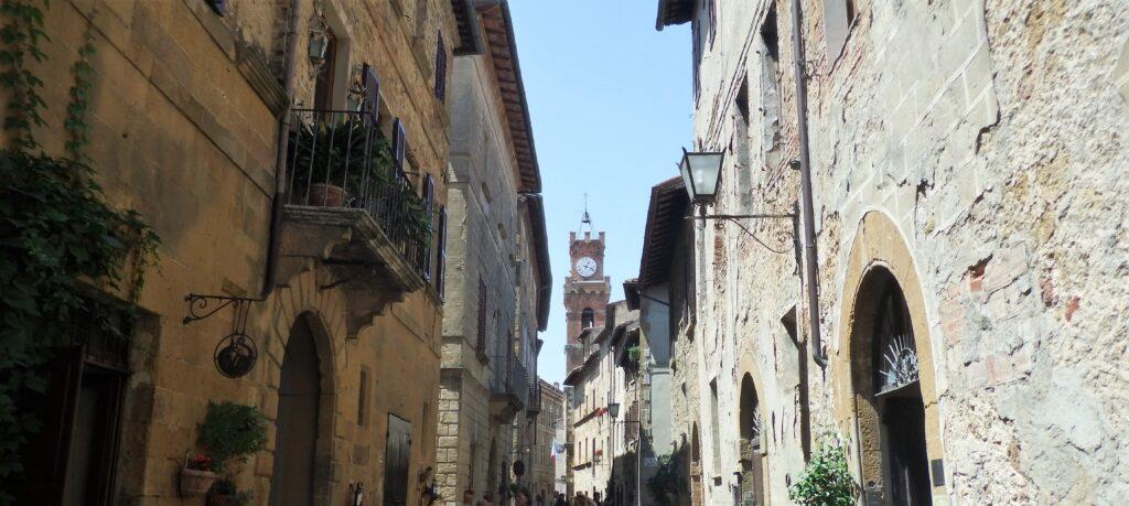 Pienza, Corso Rossellino.