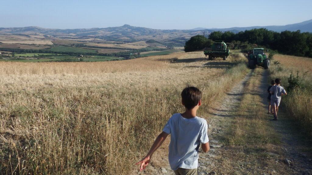 Riserva Lucciola Bella, passeggiata verso i calanchi.