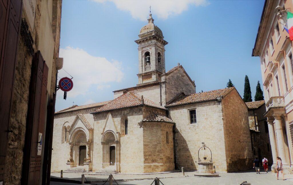 San Quirico d'Orcia, Collegiata.