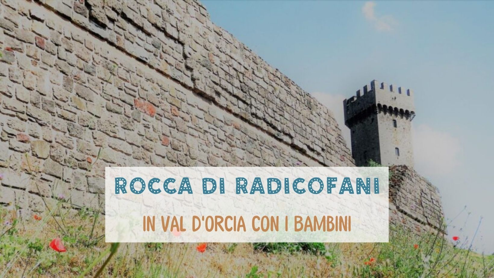 Toscana Val d'Orcia Radicofani bambini (2)