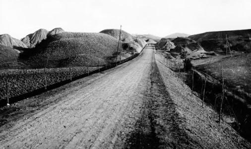 Val d'Orcia. foto storica.   Gruppo Fotografico Piacentino.