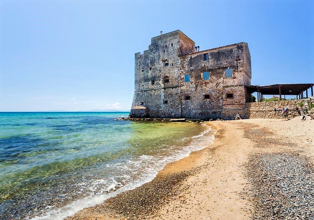 Follonica, spiaggia di Torre Mozza.