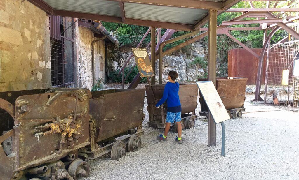 Parco Minerario San Silvestro, Museo nei pressi di Pozzo Earle.