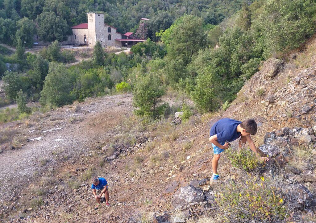 Parco Minerario San Silvestro, a caccia di minerali tra depositi di scorie.