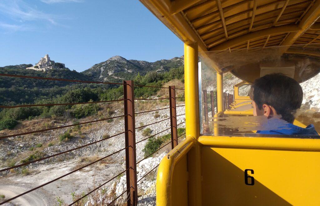 Parco Archeominerario di San Silvestro, visita delle gallerie con trenino bambini