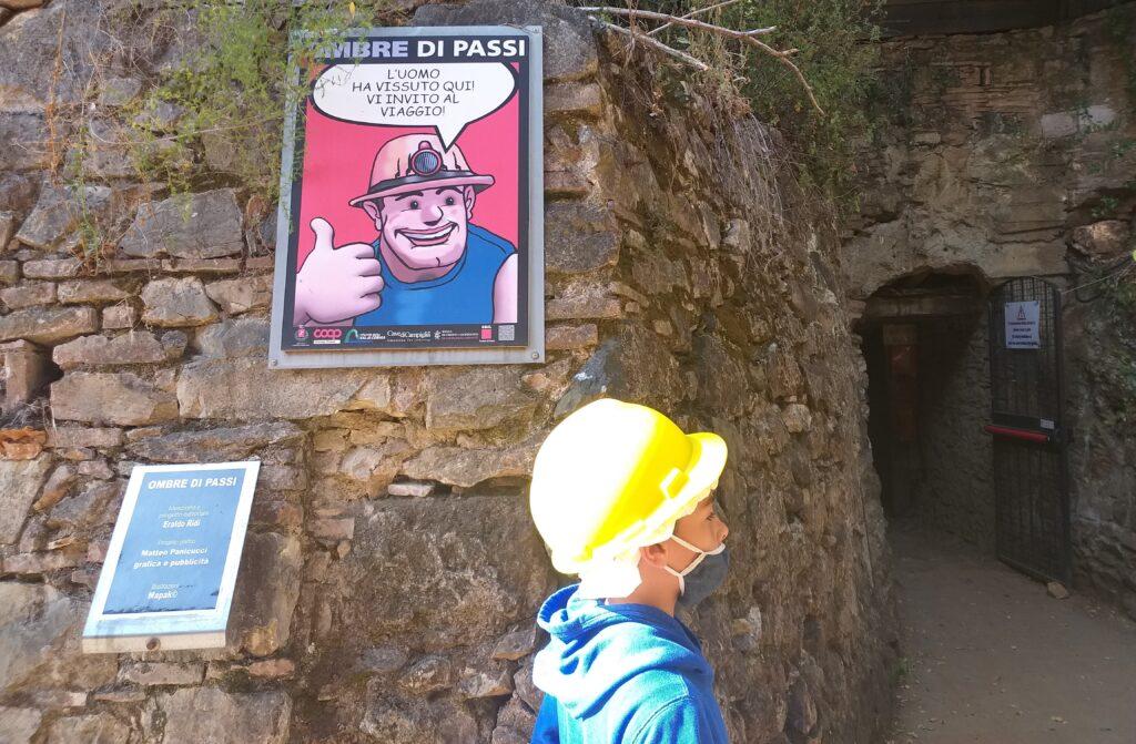 Parco Minerario San Silvestro, ingresso nella miniera del Temperino.