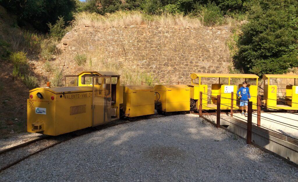 Parco Minerario San Silvestro, trenino minerario.