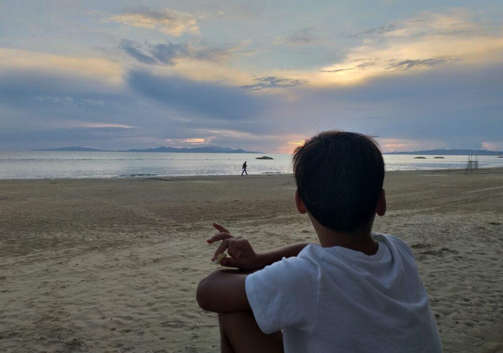 Da Baratti a Follonica con i bambini, merenda sulla spiaggia di Follonica