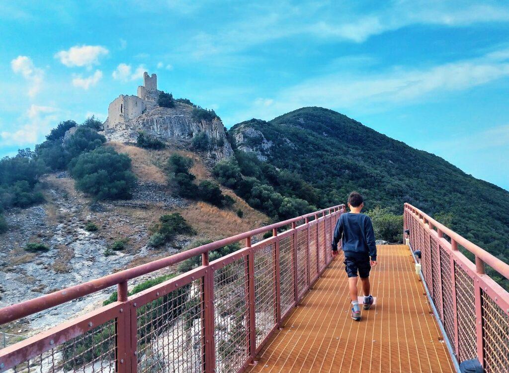 Da Baratti a Follonica con bambini Rocca San Silvestro parco minerario