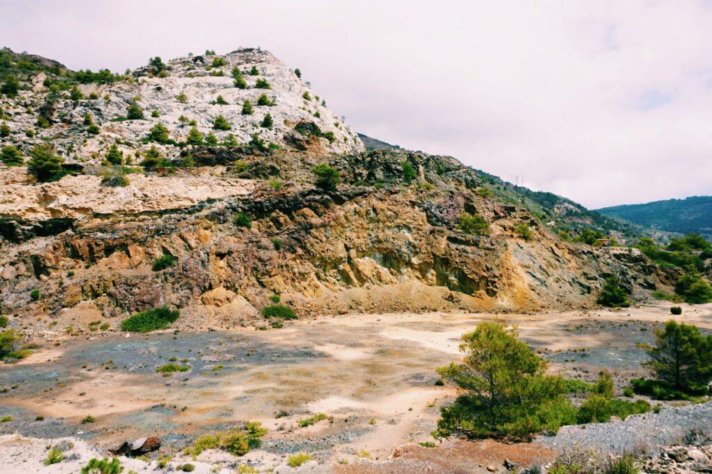 Elba, miniera del Vallone.