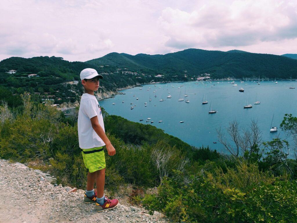 Elba, passeggiata a Capo Enfola.