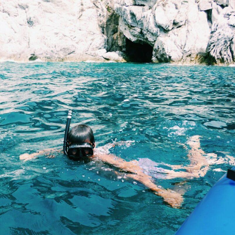 Elba Grotta Azzurra spiaggia Cavoli