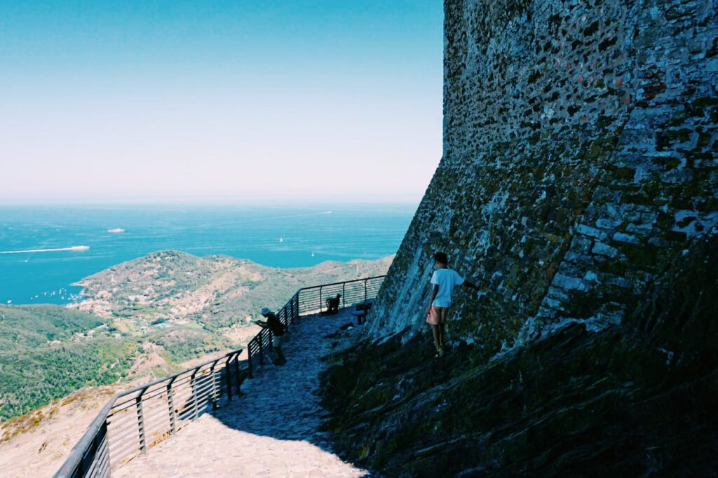 Elba, Castello del Volterraio.
