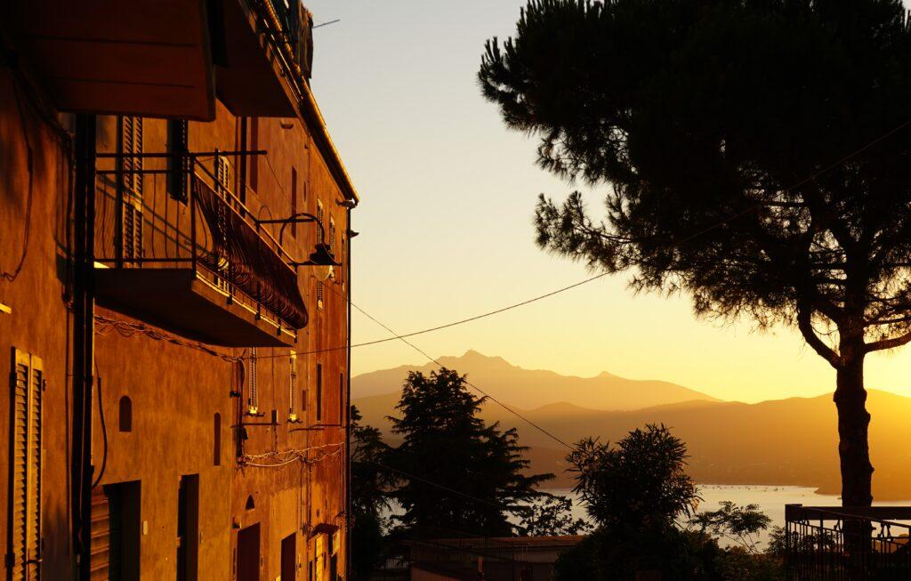 Elba, tramonto a Capoliveri.