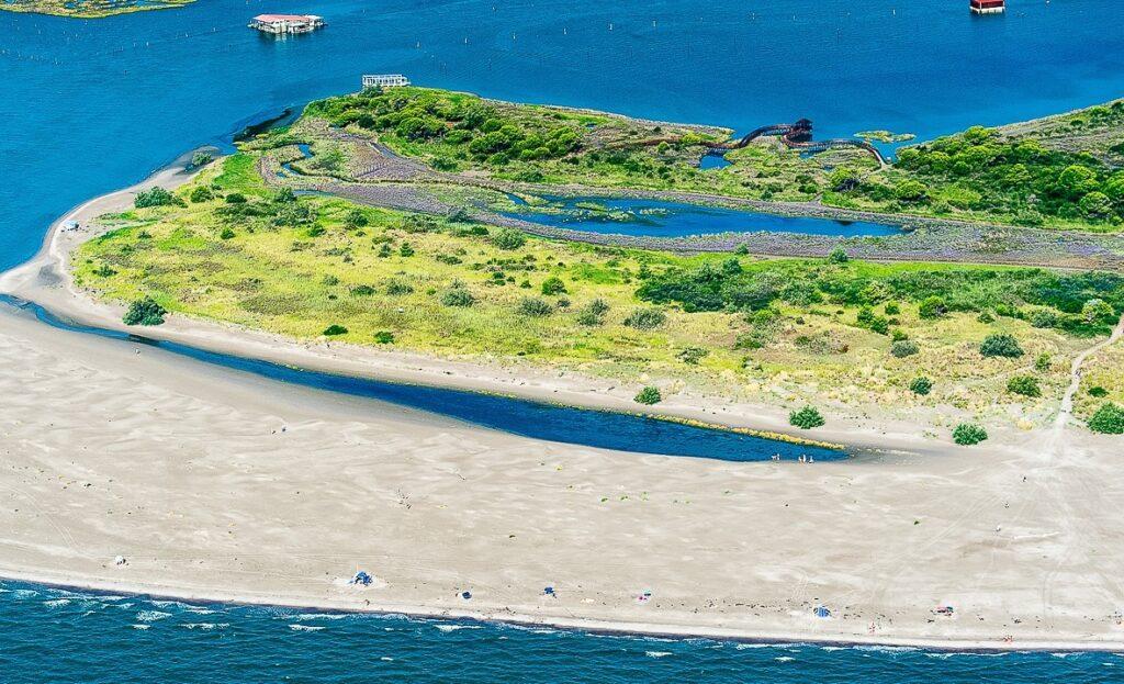 Rosolina Mare, spiaggia di Porto Caleri.