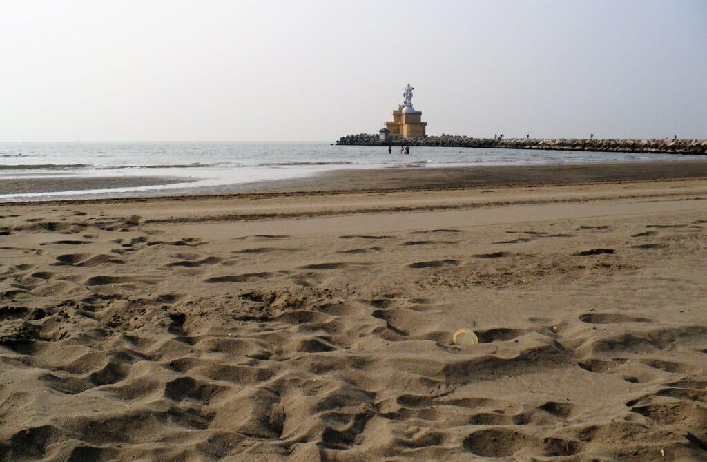 Cavallino-Treporti, spiaggia di Punta Sabbioni.