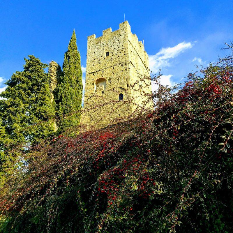 Casentino Stia castello di Porciano